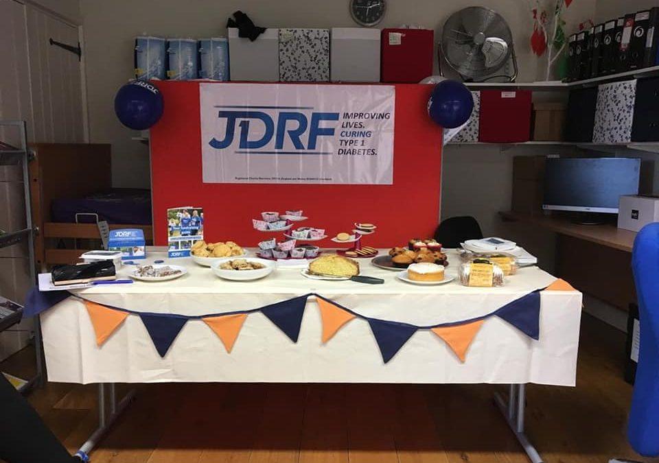 JDRF tea party