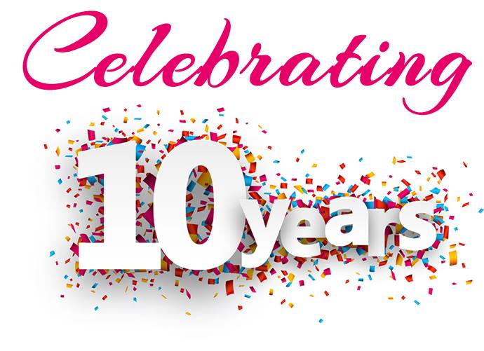 Wow!  It's nearly our birthday!