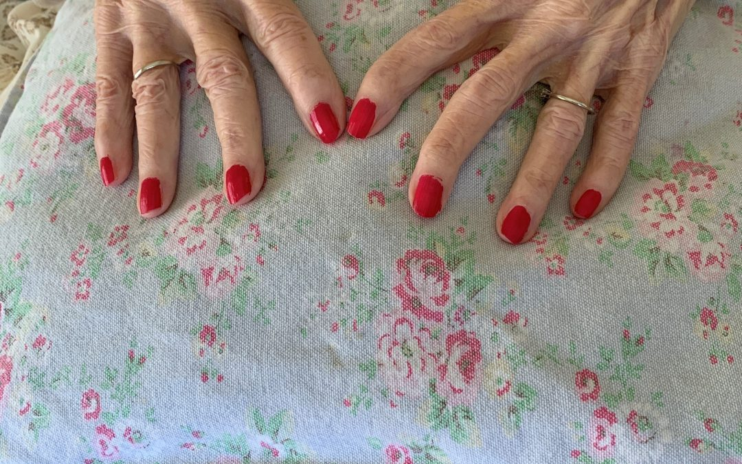 You're never to old to have your nails painted!